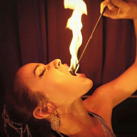 Brianna Mae Clements - Fire Show