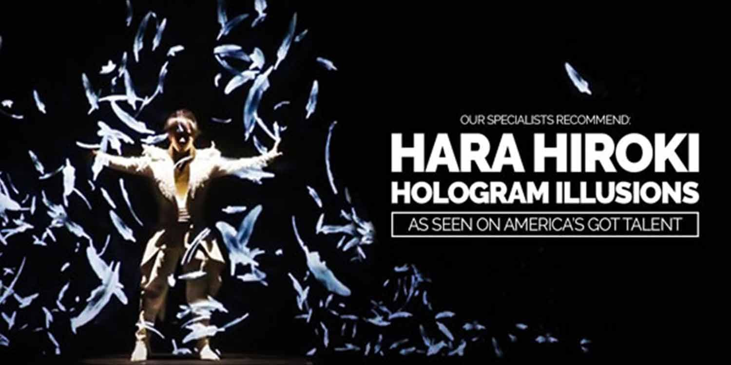 Our Specialists Recommend: Hara Hiroki Hologram Illusions