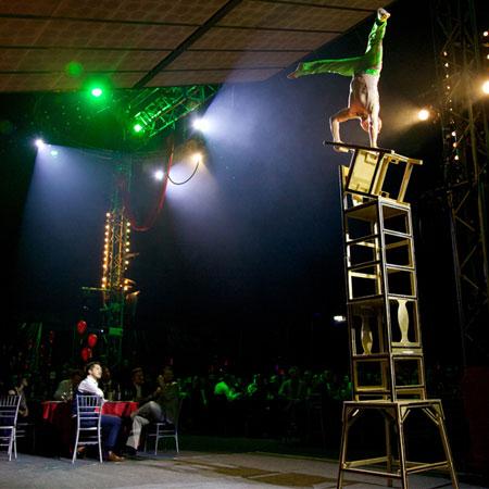Sorcha Ra - Cirque Shanghai