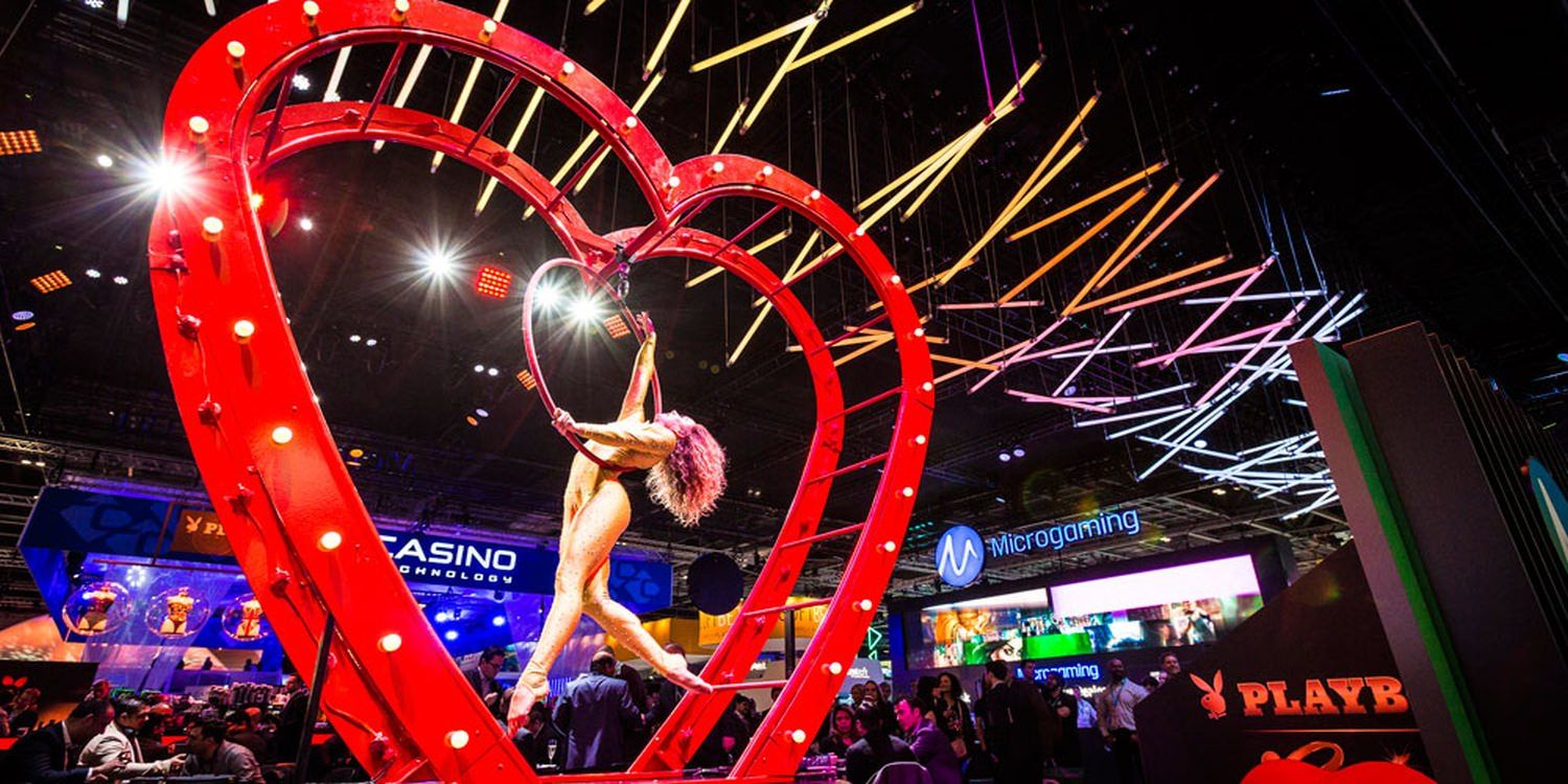 Branded Exhibition Entertainment At ICE Totally Gaming