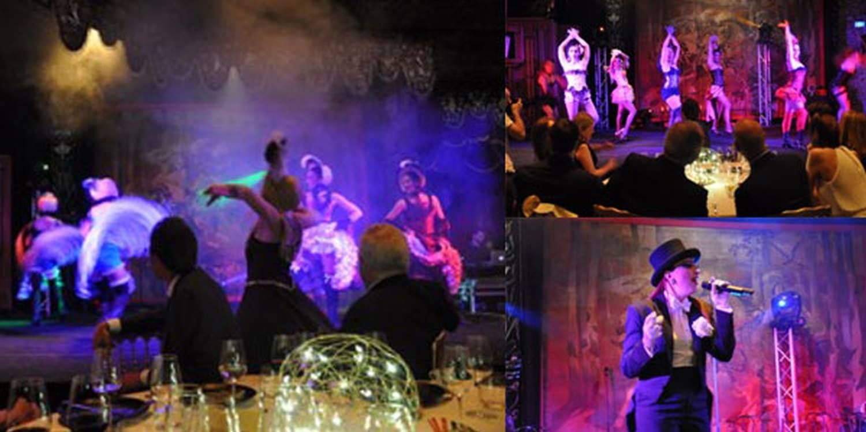 Cabaret Dance Show In Paris For Glitzy Gala Dinner