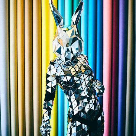 Mirror Disco Bunny