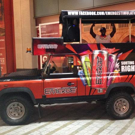 DJ Knight - Mobile DJ Jeep