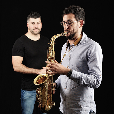 Duo House and Sax