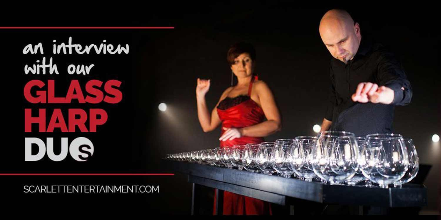 An Interview With Our Glass Harp Duo