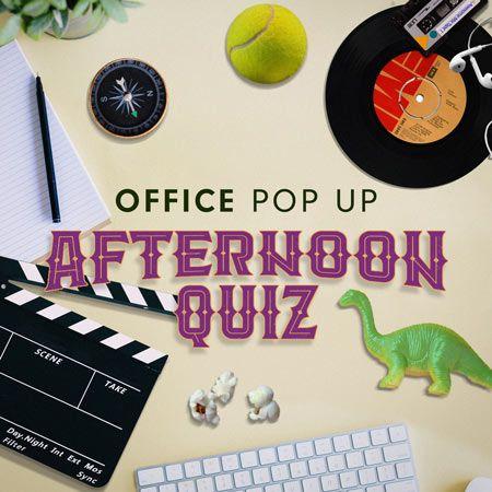 Custom Creations - Office Pop Up Quiz