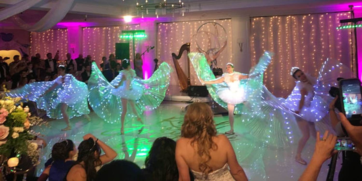 LED Ballet Dancers On Point For 50th Birthday