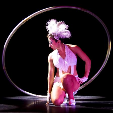 Valeria Maya - Cyr Wheel