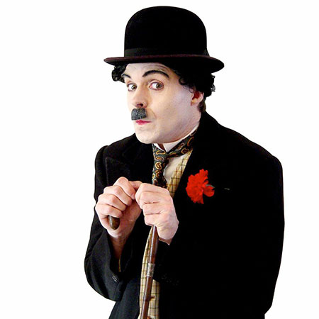 Charlie Chaplin - Lookalike - Royal Footmen