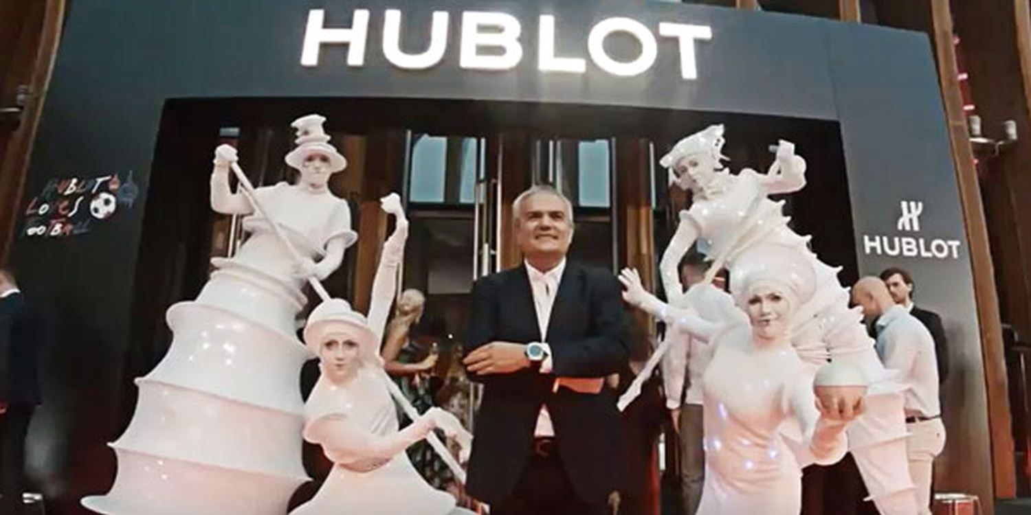 Hublot Brand Activation At World Cup Russia