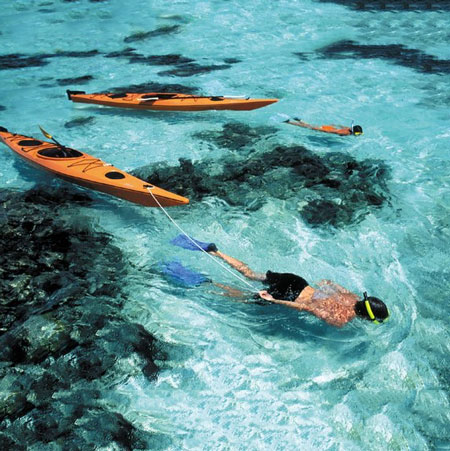 Travel Bounds- Kayaking and snorkeling