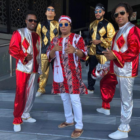 MERENGLASS - Famous Mexican Merengue band