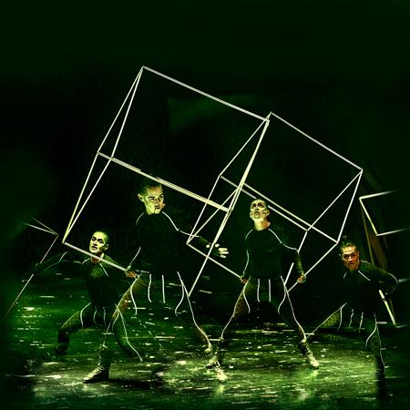 Omar Fuentes - LED Cube