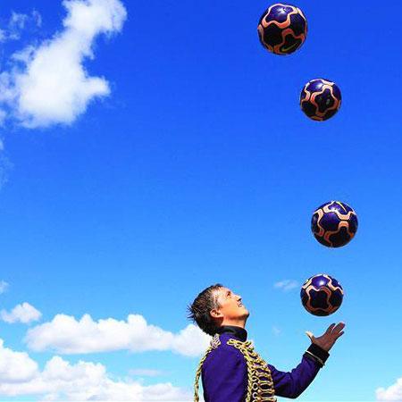Victor Rubilar - Football Juggling Show
