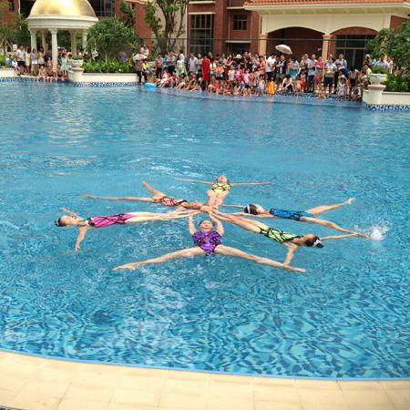 韵美花样水舞 Yunmei Synchronised Swimming Group