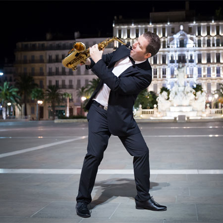Saxophonist Emmanuel