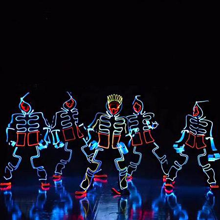 Spark Show Productions - LED Tron Dancers