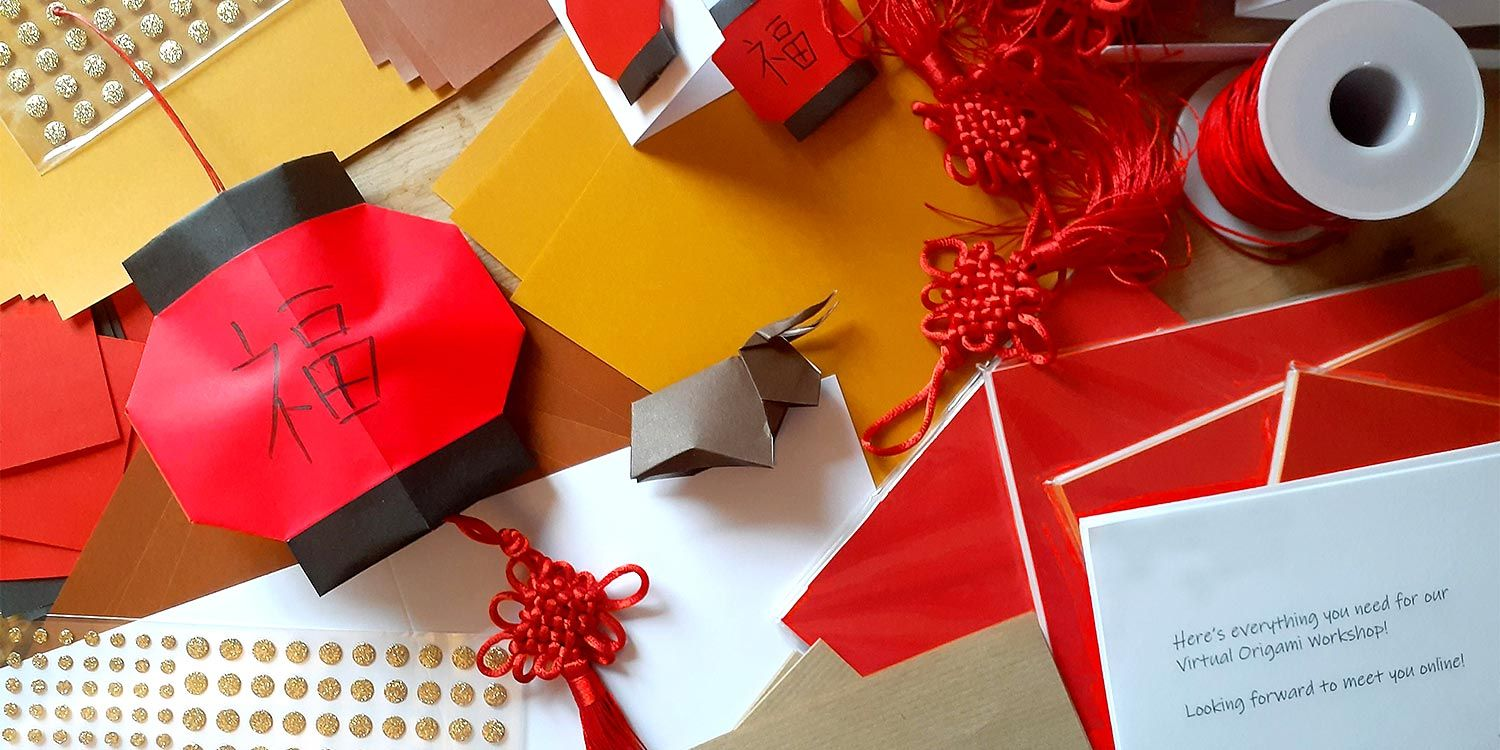 Clients Celebrate Chinese New Year in Online Origami Class