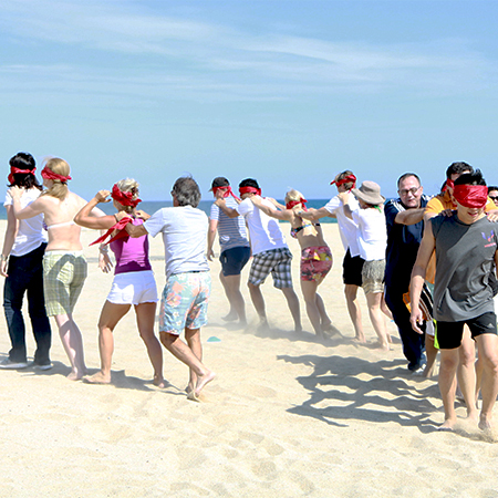Corporactivity - Beach Games - Teambuilding in the sun