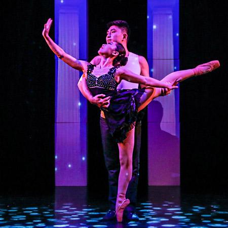 Gao Lin and Liu Xin - Ballet duo act