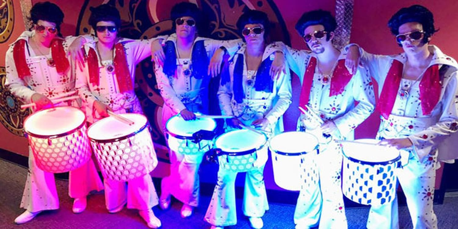 Elvis LED Drummers Are A Hit In Vegas