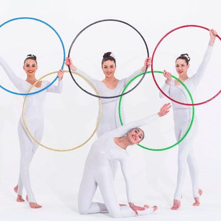 Tumbellina: Olympic Rhythmic Gymnasts