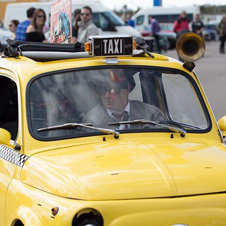 Marco Carolei - Roaming Taxi Act