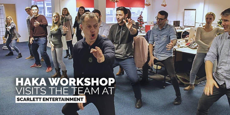 Global Haka Workshop Visits Entertainment HQ