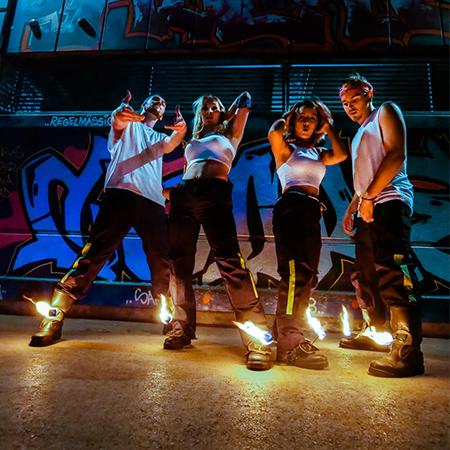 Dance Industry - Fire Urband Dance Show