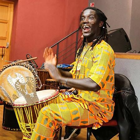 Mohamed Gueye - African Drummer/Singer