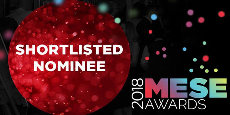 We've Been Shortlisted For #MESE18 Awards!