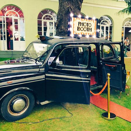 Alfie The Black Cab Booth