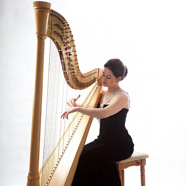 Sophia The Singing Harpist