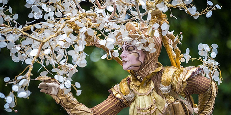 Festival-Goers Charmed By Dreamlike Tree Characters In Romania