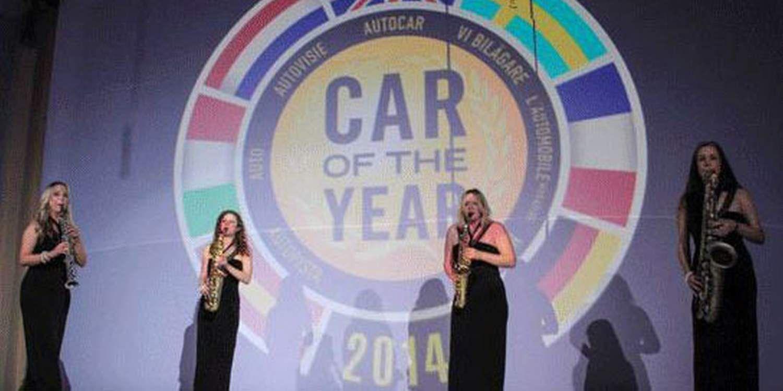 Sax Quartet Drives The Crowd Wild At Car Launch