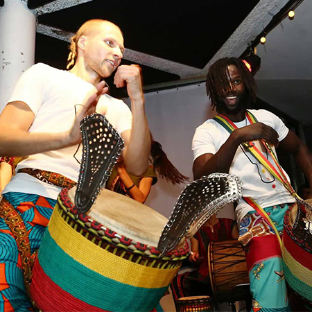 Bibiche Sambou - African Drummers and Dancers