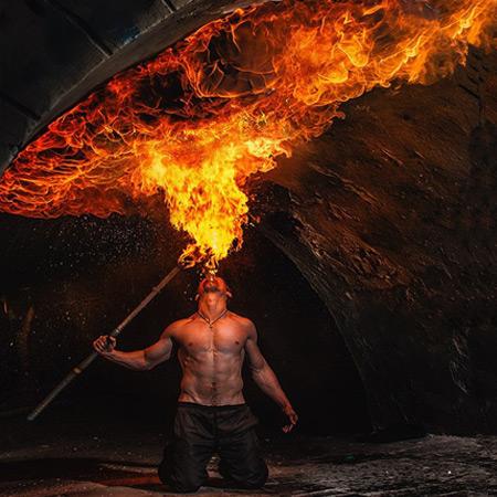 Mahatma - Fiery Pyrotechnics Show