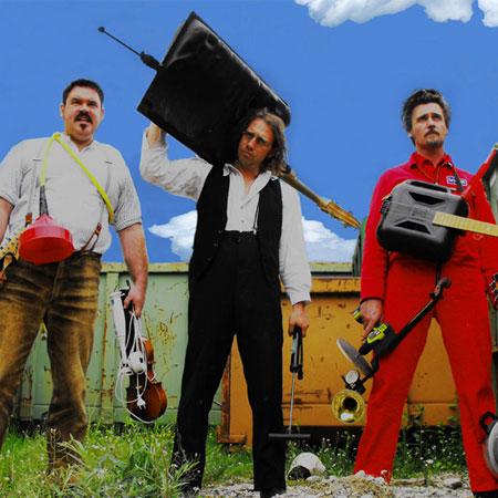 Toni Bartl Showconcept - Recycling Music Show