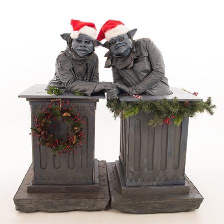 The Legendary Stilt Company - Christmas Gargoyle Characters