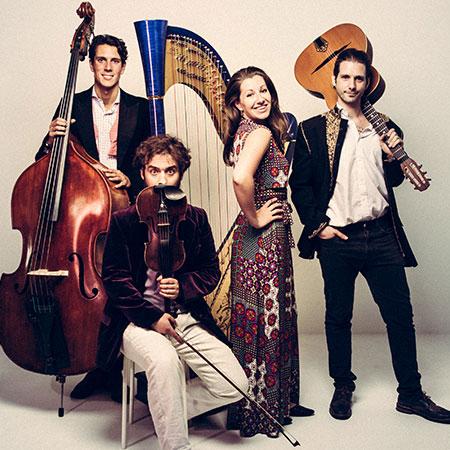 Harp Bazaar - Swing Band