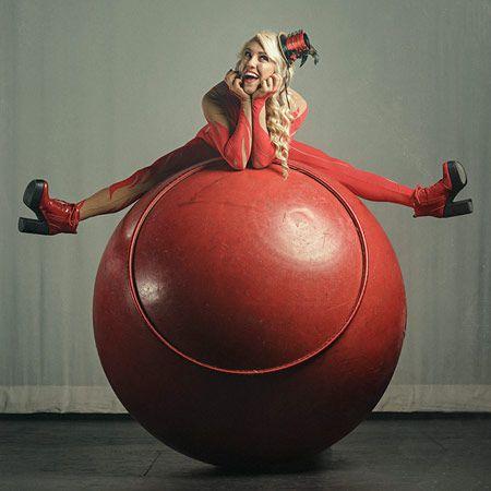 Big Red Circus Ball