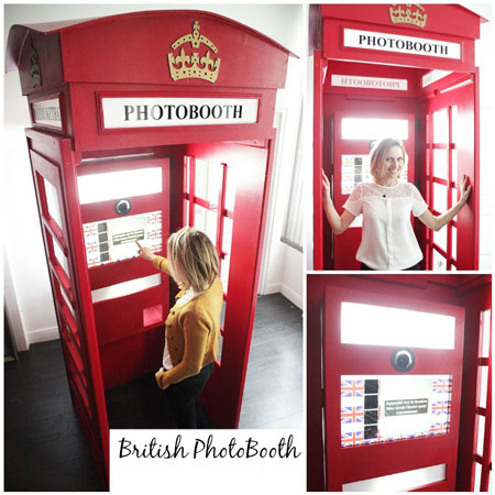Mister Like That - British Themed Photo Booth
