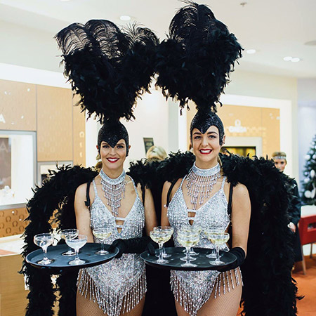 Rubix - Showgirl Dancers