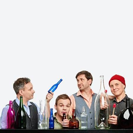 Das GlasBlasSing Quartet