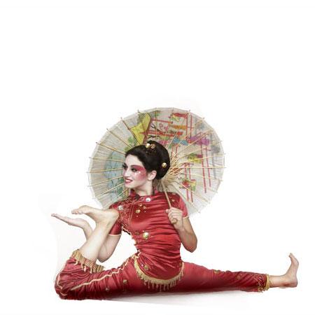 Divine Company - Geisha, contortion performance