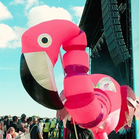 Custom  Creations - Giant Inflatable Flamingo