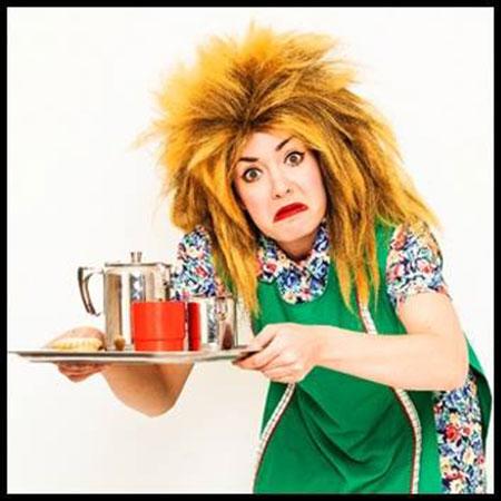 Tina T'urner Tea Lady