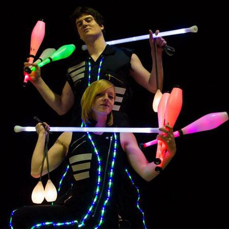 Pass Go Juggling - Glow Show