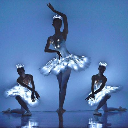 Sophie Adams LED Ballerinas
