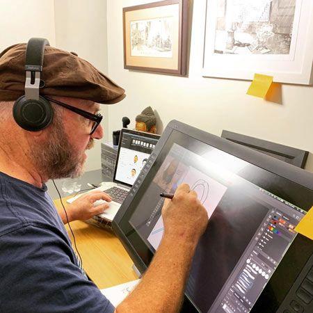 Brett Bower - Virtual Cartoonist